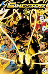Comic Cover - Sinestro #4: Angriffsziel Erde, Rechte bei Panini Comics