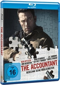Cover - The Accountant, Rechte bei Warner Home Video