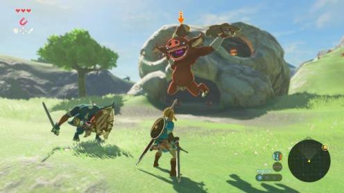 The Legend of Zelda: Breath of the Wild, Rechte bei Nintendo