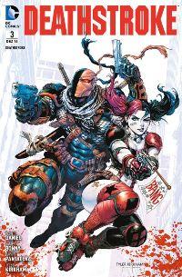 Deathstroke #3: Nicht ohne seine Tochter, Rechte bei Panini Comics