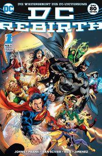 DC Rebirth Special #1, Rechte bei Panini Comics