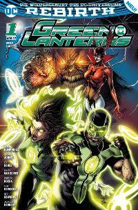 Green Lanterns #1: Planet des Zorns, Rechte bei Panini Comics