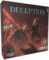 Brettspielschachtel - Deception/Getäuscht: Mord in Hong Kong, Rechte bei Heidelberger Spieleverlag / Asmodee
