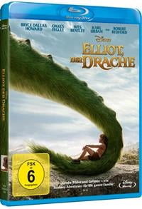 Blu-ray Cover - Elliot, der Drache © 2017 Disney
