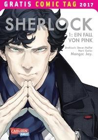 Sherlock, Rechte bei Carlsen Comics