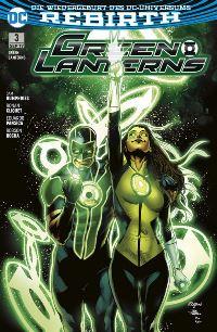 Green Lanterns #3: Die Phantom-Lantern, Rechte bei Panini Comics