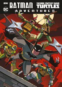 Batman+Teenage Mutant Ninja Turtles Adventures - Cover