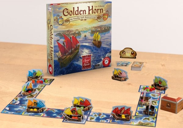 Golden Horn - Spielmaterial