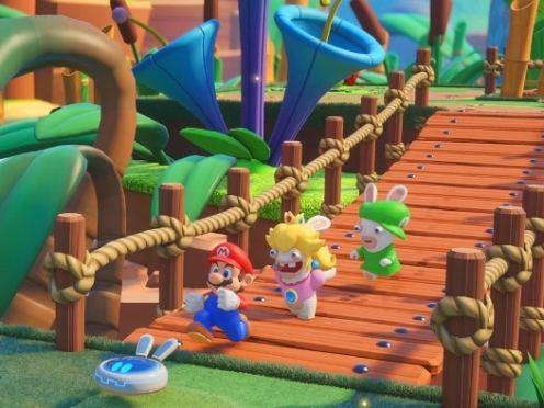 Mario And Rabbids Kingdom Battle
