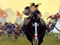 Mulan im Kampf
