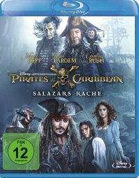 Pirates of the Caribbean: Salazars Rache - Cover