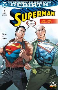 Superman #6, Rechte bei Panini Comics