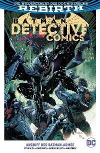 Batman Detective Comics Paperback #1: Angriff der Batman-Armee, Rechte bei Panini Comics