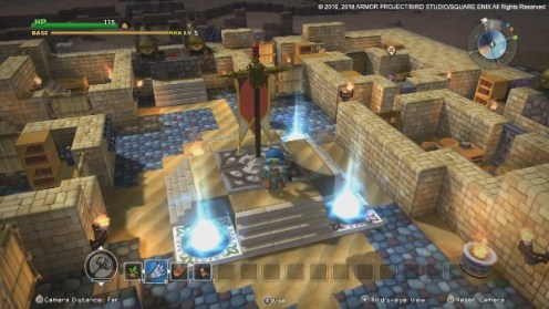 Dragon Quest Builders, Rechte bei Square Enix
