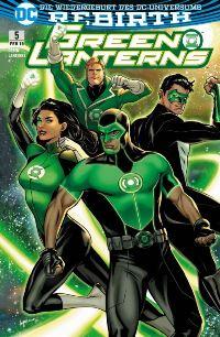Green Lanterns #5: Die Rückkehr der Ersten Lantern, Rechte bei Panini Comics