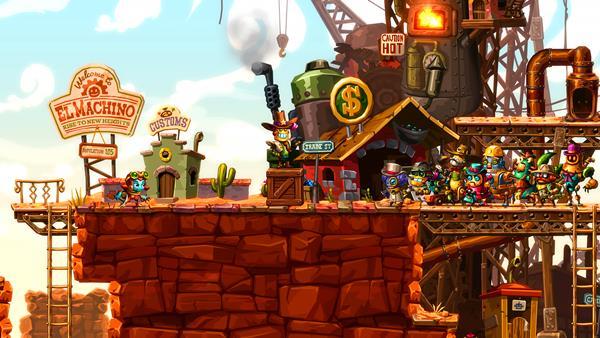 SteamWorld Dig 2 Bild 1