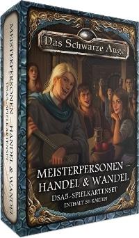 DSA5-Spielkartenset: Aventurische Meisterpersonen – Handel & Wandel, Rechte bei Ulisses Spiele