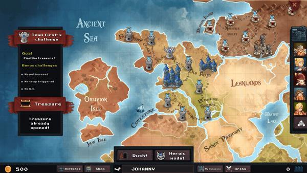 Dungeon Rushers Crawler RPG Bild 1