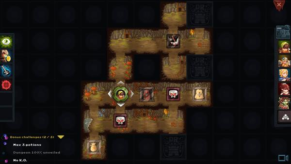 Dungeon Rushers Crawler RPG Bild 3