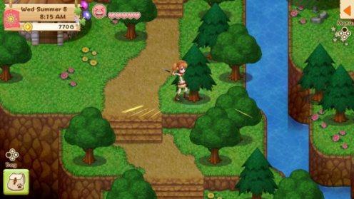 Harvest Moon - Licht der Hoffnung - Baum hacken