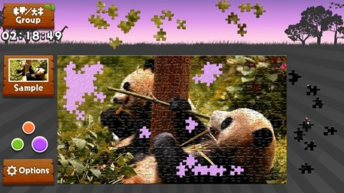 Animated Jigsaws: Wild Animals, Rechte bei Rainy Frog