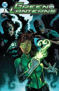 Green Lanterns #8: Versklavte Helden, Rechte bei Panini Comics