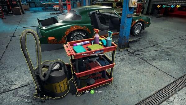 Autowerkstatt Simulator Bild 1