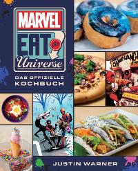 Marvel Eat the Universe - Das offizielle Kochbuch - Cover, Rechte bei Panini Books