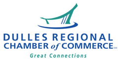 Dulles Regional Chamber Logo - Horizontal