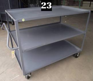 """Heavy Duty Welded Cart #23 (60""""x36""""x47"""") - New Surplus"""