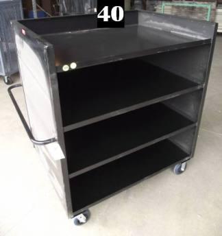 """Heavy Duty Welded Cart #40 (49""""x37""""x58"""") - New Surplus"""