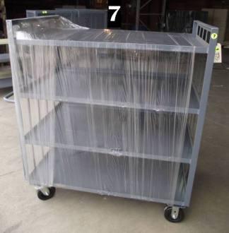 """Heavy Duty Welded Cart #7 (49""""x31""""x58"""") - New Surplus"""