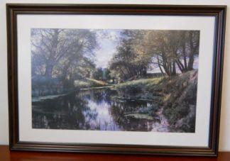 Art Print 19 - Creek Side Reflection - Used