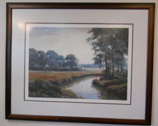 Art Print 23 - Evening Stream #10/375 - Used