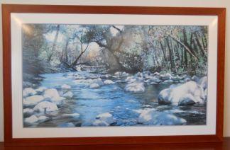 Art Print 29 - Babbling Brook - Used
