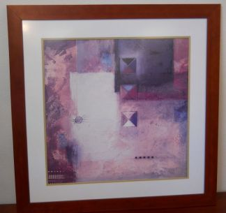 Art Print 4 - Artist Adam O - Abstract #2 - Used