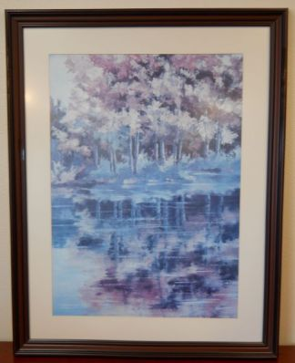Art Print 8 - Trees with Reflection - Used