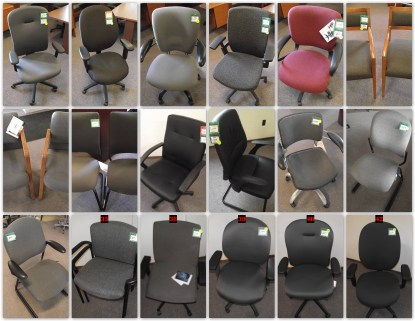 SURPLUS CHAIRS / DISCONTINUED AND OVERSTOCK