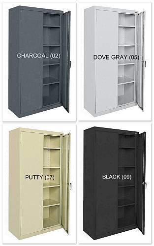 "36""x24""x72"" Sandusky 2-Door Cabinet - New"