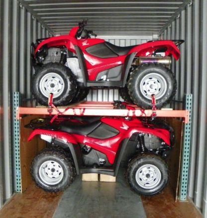 ATV Rack for Container Shipment - Dubuque, IA