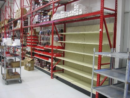 Racking & Shelving Project for Midwest Wheel