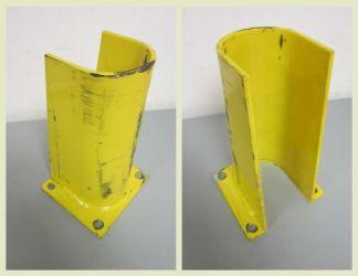 "Yellow 10"" Column Protectors - Used"