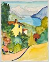 Hermann Hesse Malerfreude In Der Galerie Ludorff Le Flash