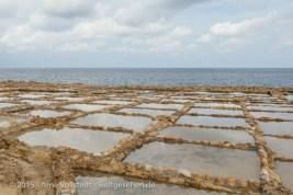 Salzpfannen am Mittelmeer