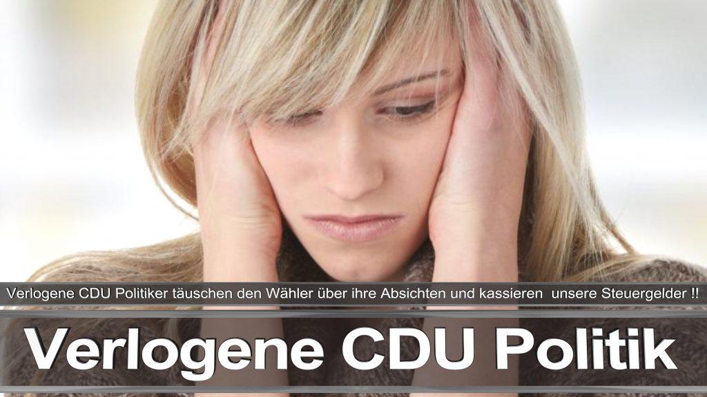 Bundestagswahl 2017 Wahlplakat Bundestagswahl, 2017, Umfrage, Stimmzettel, Angela Merkel CDU CSU SPD AFD NPD (27)