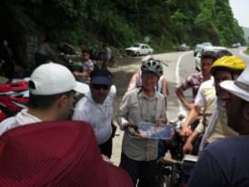 Iranische Radreisende