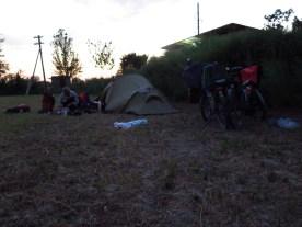 erste Übernachtung in Usbekistan