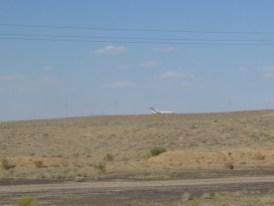 Ein Flugzeug in der Wüste?!