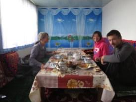 Frühstück mit Marianne und Thomas