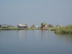 schwimmende Häuser